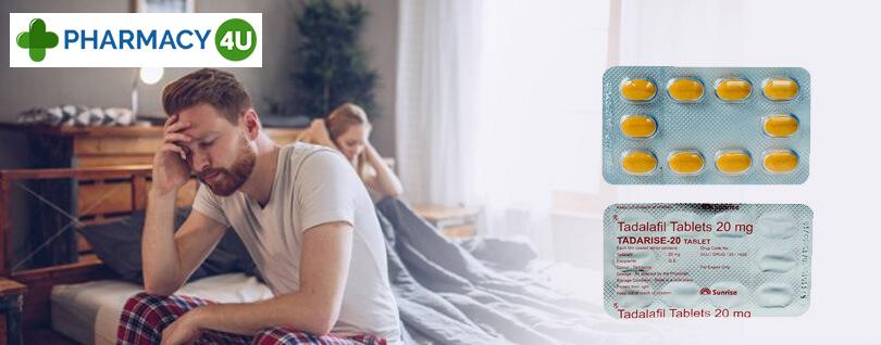 Enjoy Tadalafil Tablets 20 mg for Terrific Erections