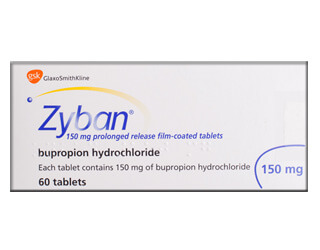Bupropion 150 mg (Zyban)