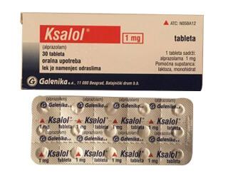 Alprazolam 1 mg (Xanax)